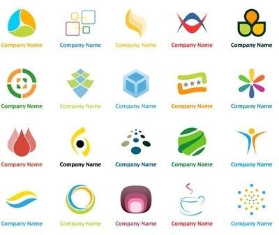20 Vector logo design templates 2 Free vector in Encapsulated