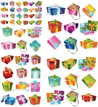 Gift box templates illustrator free vector download (221,464 Free