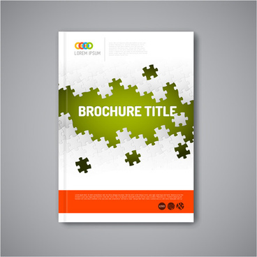 Cover page design template free vector download (18,439 Free vector