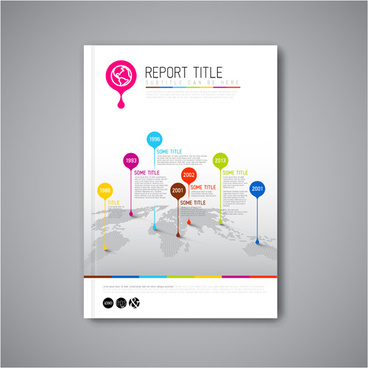 Cover page design template free vector download (16,890 Free vector - free report cover page template