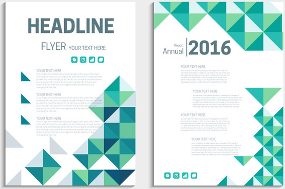Flyer template nature free vector download (22,731 Free vector) for