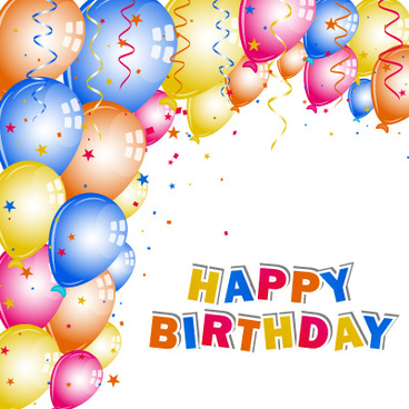 Happy birthday card frame free vector download (20,353 Free vector