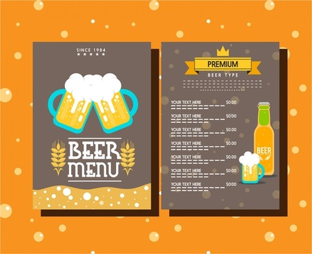 Blank menu template design free vector download (15,810 Free vector