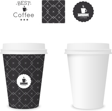 Paper cup template free vector download (19,685 Free vector) for