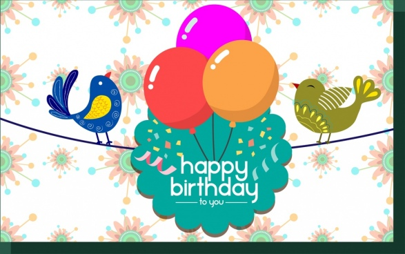 Corporate birthday card template free vector download (23,738 Free - template for a birthday card