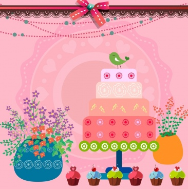 Balloons birthday party background free vector download (51,207 Free