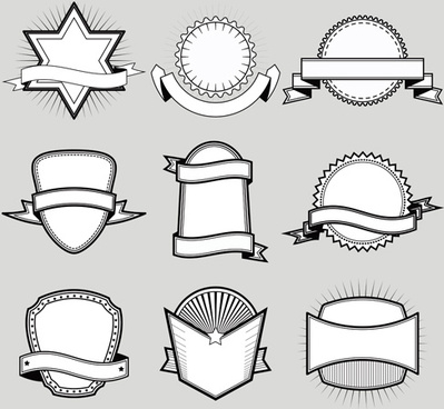 Blank label free vector download (9,684 Free vector) for commercial - blank label template
