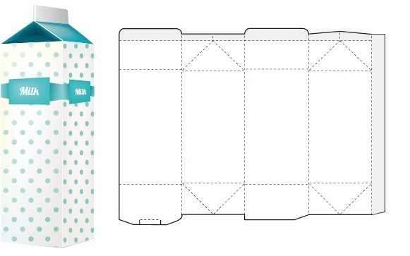 Product box packaging design templates free vector download (19,785