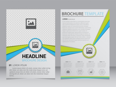 Blank brochure template free vector download (15,232 Free vector - Product Brochure Template