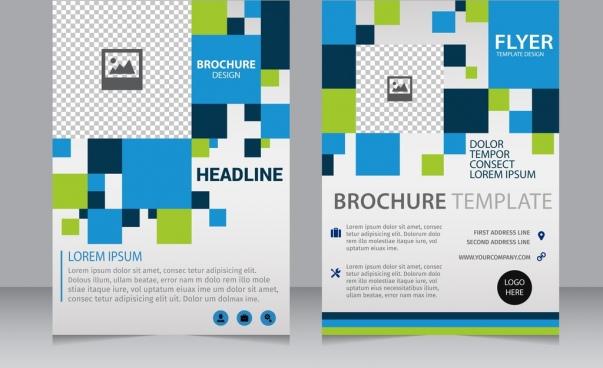 Blank brochure template free vector download (15,085 Free vector