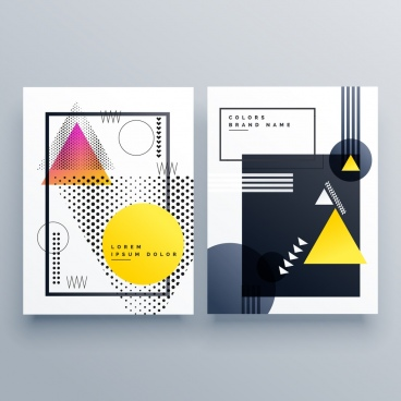 Blank brochure template free vector download (15,232 Free vector