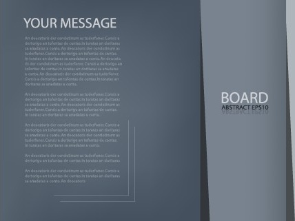 Business brochure templates layout design Free vector in Adobe