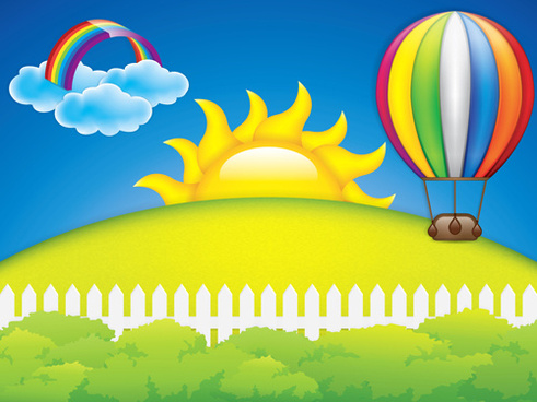 Cartoon images of spring season free vector download (19,408 Free