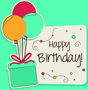Birthday greeting card template free vector download (23,838 Free