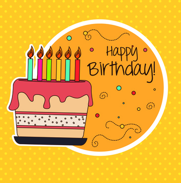 Happy birthday editable card free vector download (15,378 Free - free birthday card template word