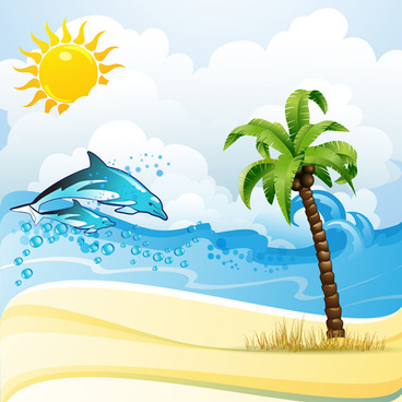 Cute Sea Turtle On Sand Hd Graphic Wallpaper Cartoon Pictures Beach Free Vector Download 15 858 Free
