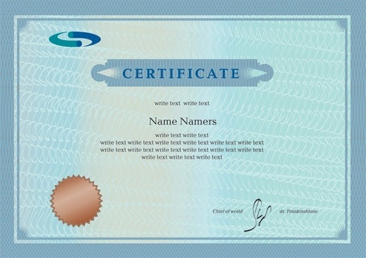 Certificate free vector download (838 Free vector) for commercial