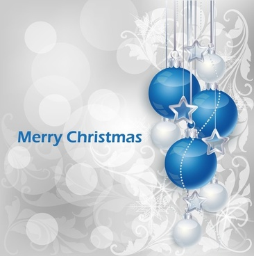 Christmas poster template illustrator art free vector download