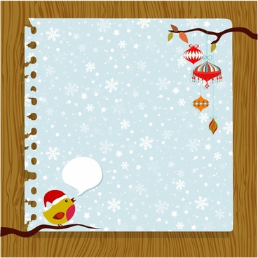 Christmas card background free vector download (56,677 Free vector
