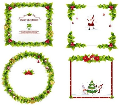 Christmas frame vector free vector download (12,482 Free vector) for