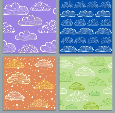 Flyer background template blue free vector download (59,719 Free