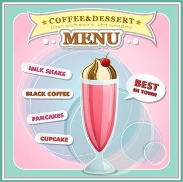 free dessert menu templates - Ozilalmanoof