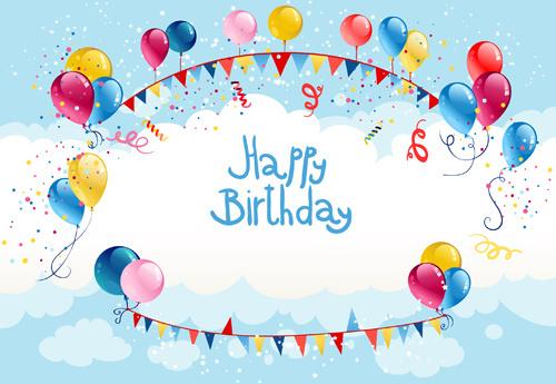 Summer birthday invitation template free vector download (16,692 - format for birthday invitation