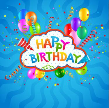 Birthday background design free vector download (45,889 Free vector - birthday backround