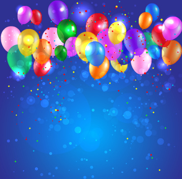 Happy birthday backgrounds for children free free vector download - birthday backround