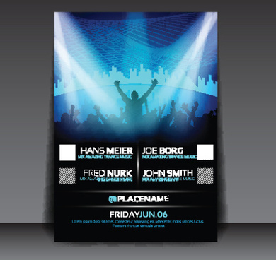Party flyer background template free vector download (54,419 Free