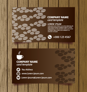 Coffee shop business card free vector download (25,511 Free vector