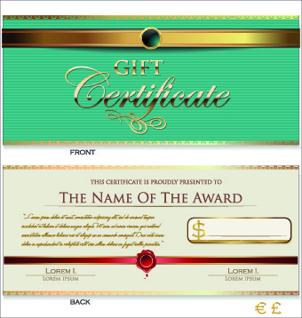 Holiday gift certificate template vector free free vector download - christmas gift certificate template free