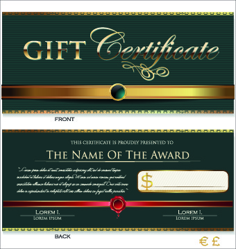 Gift certificate template free vector download (16,709 Free vector - gift certificate template free download