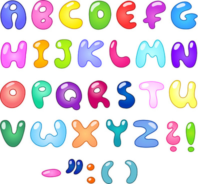 Cute alphabet letters designs free vector download (8,535 Free
