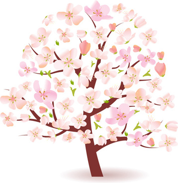 Cartoon images of spring tree free vector download (21,679 Free