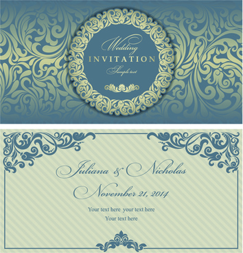 Elegant invitation free vector download (5,825 Free vector) for