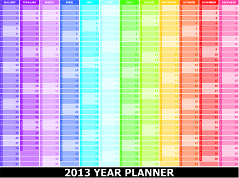 Daily planner free vector download (180 Free vector) for commercial
