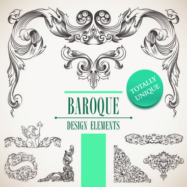 Baroque free vector download (241 Free vector) for commercial use - baroque scroll designs