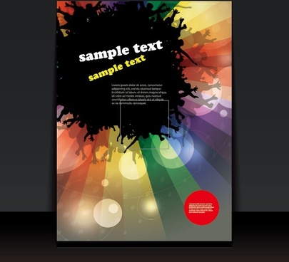 Cover page design template free vector download (17,013 Free vector