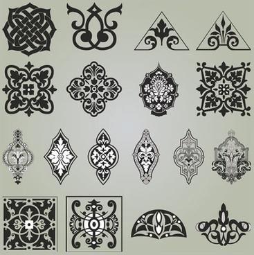 Photoshop floral corner shapes free vector download (20,331 Free
