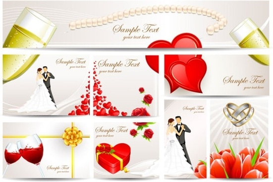 Wedding anniversary card free vector download (13,749 Free vector