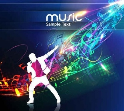 Music flyer background template free vector download (56,042 Free