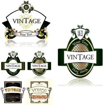 Bottle label design free vector download (9,152 Free vector) for