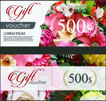 Gift voucher design free vector download (2,817 Free vector) for