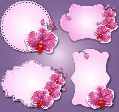 Flower paper border template free vector download (30,033 Free