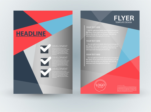 Flyer free vector download (1,867 Free vector) for commercial use - free design flyer templates