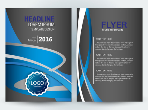 Adobe illustrator flyer template free vector download (221,664 Free - design a flyer free