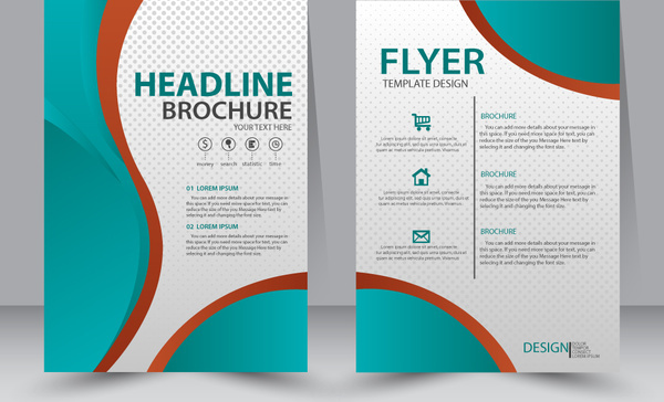 Flyer layout free vector download (3,955 Free vector) for commercial