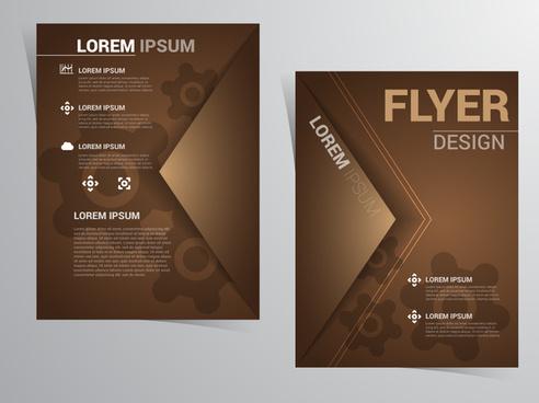 Sample flyer design free vector download (2,150 Free vector) for