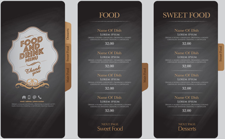 Drink menu vector free vector download (2,759 Free vector) for - Free Drink Menu Template